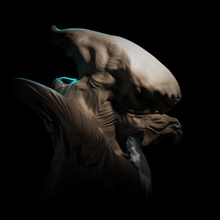 espaço monstro loja Natal 3d 40k fracasso Sombrio jogos monstro sci fi navio espaço Estrela martelo guerra natal personagem esculpir transporte guerras arrepiante 3 universo openlock localizador estrelas viajante