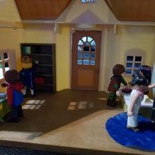 bibliotheque decoration  decor creation accessoire concours meuble playmobil maison fixmytoy bibliotheque librairie livre