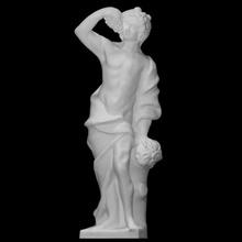 Dionísio Varredura Deus escultura estátua adoração mármore masculino uva Baco Dionísio