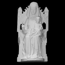 Madone enfant analyse bébé sculpture femelle Jésus sculpture culte enfant religion église Madone assise Marie trône vierge chêne catholique