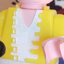 cuerpo Freddy mercurio Lego gigante muñecas Lego juguetes