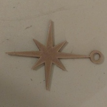 Estrela david enfeite