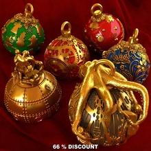 Natale decorazioni pacco giardino Natale steampunk polpo Babbo Natale ornamento abete