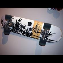 pennyboard + skateboard angled wall mounts art decorative functional mount wall skateboard pennyboard