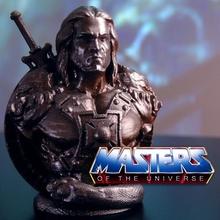 he-man bust masters universe support free model action bust cartoon figure fun master  toys comics fanart  universe heman he-man skeletor