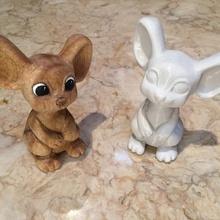 trattino topo giocattoli Giochi animale carina giocattolo bambino topo scansionato fatto mano bambino piccolo