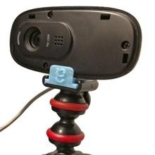 logitech c270 webcam guerriglia treppiedi montare gadget elettronica telecamera treppiedi webcam telecamera montare logitech treppiedi adattatore