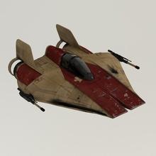 wing estrella guerras juguetes juegos Arte película pistola ligero avión apuntalar Embarcacion espacio estrella guerra Galaxias transporte arma ala cosplay guerras velocidad deslizador frente batalla asombro