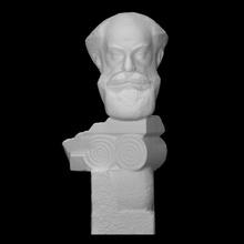 baş Joseph Orbeli taramak baş sakal erkek tarihçi hermitage oryantalist akademisyen