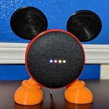 Google mini Mickey gadgets électronique disney Mickey GoogleHomemini googlemini Accueil