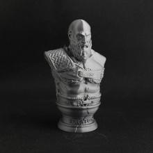 kratos - v2 support free edition fan art bust kratos godofwar sculptuire