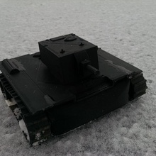 rc kv-2 wwii tank tank russian rc wwii kv-2