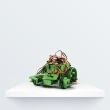 printbot escarabajo artilugio electrónica garra arduino robot pla sensor servo bq robótica printbot Witbox escarabajo
