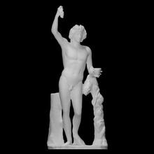 Dionísio Varredura grego romano escultura mármore apolo Dionísio liceu