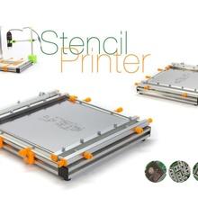Schablone Drucker Bildung Drucker Schablone Löten pcb Schablonendrucker