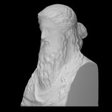 Dionísio Sardanapalus moderno herm Varredura fracasso escultura mármore herm Dionísio Sardanapalus