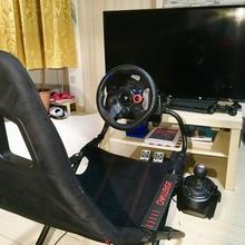 logitech shifter console seggiolino sfida macchina guida vigore sfida rig logitech shifter drivingforce simulatore seggiolino
