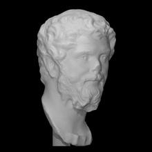 septimius Severus Varredura fracasso cara cabeça homem retrato romano imperador septimius Severus