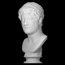 Adriano scansione romano marmo imperatore Italia Adriano adrian