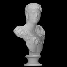 imperatore Adriano scansione fallimento viso uomo ritratto romano Roma imperatore Adriano