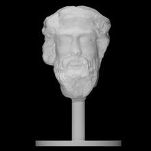 cabeça Dionísio Varredura cara Deus cabeça retrato barba Dionísio