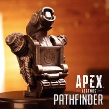 pathfinder-bust apex legends support free model fan art action bust fun toy toys fanart legends apex pathfinder ea apexlegends