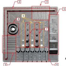 test oggetto elementi standard din en iso astm 52902 pilastro parete sperimentare standard oggetto test iso ponte sporgenza umidità deformazione ritagliare temperatura slot din astm 52902 tesi laurea