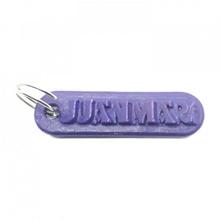 Juanmari personalizado chaveiro gravado cartas chaveiro Customizável personalizado llaveros nomes personalizado nombres Juanmari