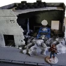 box auto negozio bundle tavolo Casa moderno warhammer negozio miniatura box auto gioco guerra scenario zombidi eskice postapo