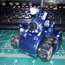 tiny slug - fpv rc tiny trak led lights fpv led model tank miniature servo rc fan art tinytrak tiny trak