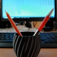 contorto tazza vaso tazza vaso contorto penstand desktopstand