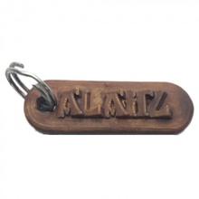 alegre personalizado chaveiro gravado cartas moda acessórios chaveiro Customizável personalizado llaveros nomes personalizado nombres alegre