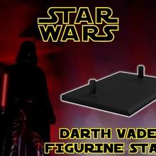 star wars episode 5 - darth vader figurine stand figurine stand star toy toys wars darth vader