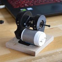 3d printed diferencial educación educativo engranajes mecánico motor diferencial eléctrico automotor