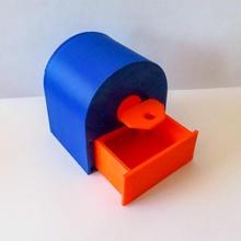3d imprimé fermer clé jouets Jeux clé mécanique fermer clé caché compartiment