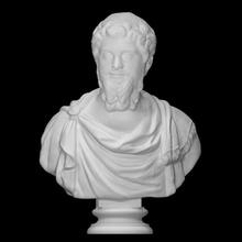 septimius Severus Varredura 3d fracasso modelo retrato romano escultura mármore imperador fotogrametria 3d printing septimius Severus romano imperadores