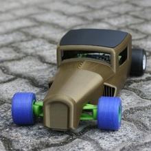openrc ossum racerod voiture concept chaud rc barre rccar openrc formula1 contrôle radio ossum openrcf1 tige chaud ossumdesigns 32ford Indycar f132