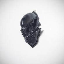 xenomorfo fallimento parete montare fan arte alieno fallimento orrore film scultura zbrush predatore xenomorfo alieno contro predatore