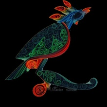 pássaro imagem chaveiro
