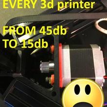 silenzioso mod 3d stampante nema ammortizzatore makerbot 3dprinter prusa mod wanhao nema17 rete ammortizzatore anycubic nema silicone silenzioso