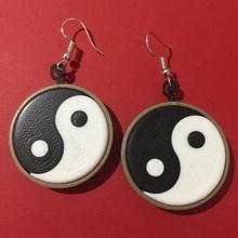 yin yang küpe mağaza Çin Çince mücevher efsane Dünya takı küpe yin Yang oryantal doğu manevi maneviyat cennet