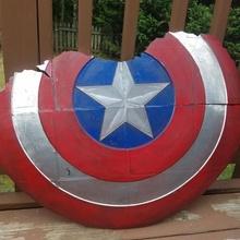kırık Kaptan Amerika kalkan Amerika siyah kırık şapka oyun adam hayret kalkan kılıç Hulk Yenilmezler Thor Stan Kaptan Demir dul panter Thanos Lee