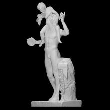 sátiro infantil Dionísio Varredura bebê figura grego mitologia escultura estátua bronze sátiro infantil Baco Dionísio