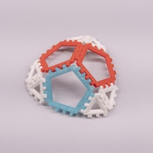 polipaneles jugar pentágono divertido rápido juguete formas dodecaedro huellas dactilares geometría construcción poliedro poliedros