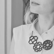 otto geometrisch Halskette Schmuck Halskette Muster geometrisch islamische Muster geometrische Muster seljuk