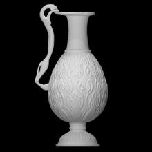 Wasserkrug feline shaped Griff Scan Katze Griff Metall Muster Bronze Kupfer Iran Krug katzenartig Islam Wasserkrug islamic art