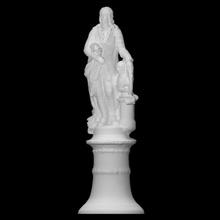 giuseppe tartini scan bust figure man portrait sculpture italy group giuseppe padua della prato valle tartini