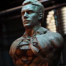 henry cavill clark kent superman support free bust fan art henry batman man  dc comics league justice steel clark kent cavill