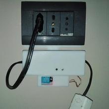 hijo básico recinto pared montar eu versión temperatura sensor jardín básico sensor wall mount temperatura hijo