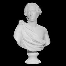 Büste Apollo Scan 3d druckbar Pfeile Büste Gesicht griechisch Kopf Porträt Skulptur Statue Apollo Fletching Fletches